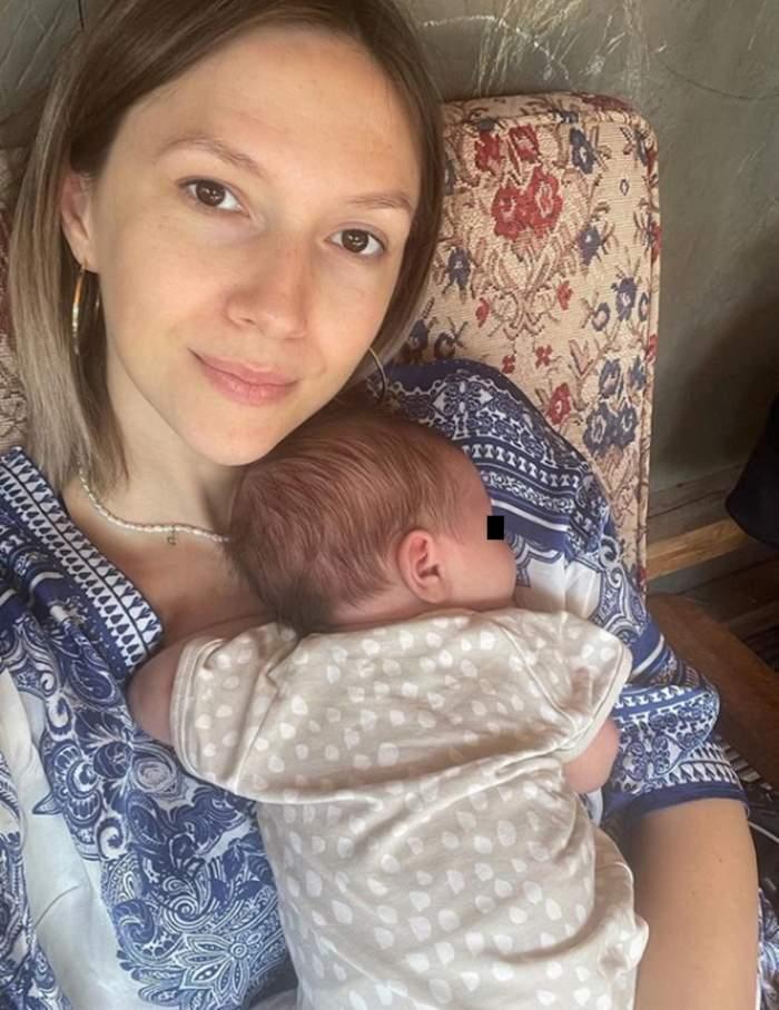 adela popescu si bebelusul