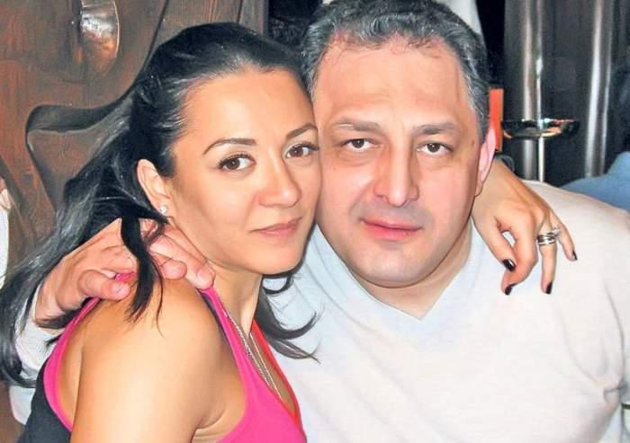 Oana Mizil și Marian Vanghelie, îmbrățișați