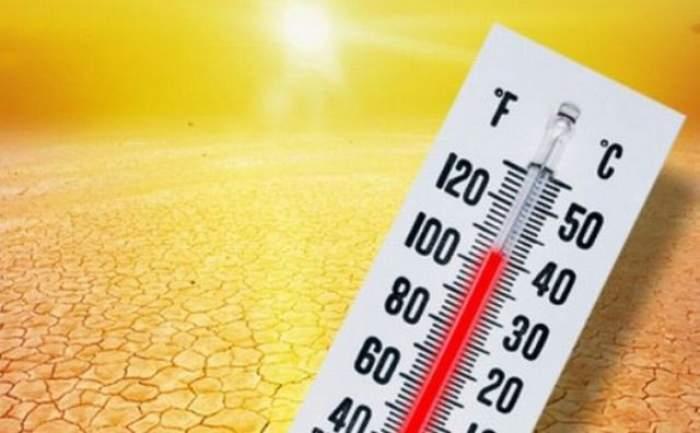 Valul de caniculă se extinde pe mai multe zile! Până când ne vom confrunta  cu temperaturi extreme de peste 47 de grade Celsius
