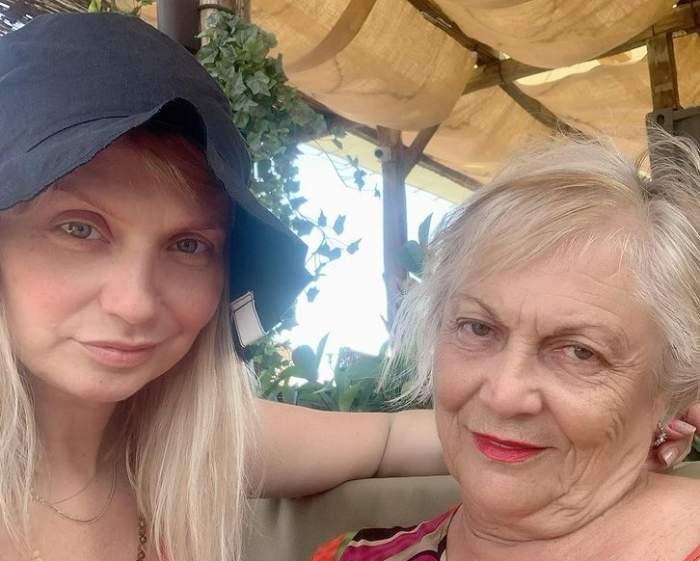 cristina cioran si mama ei selfie