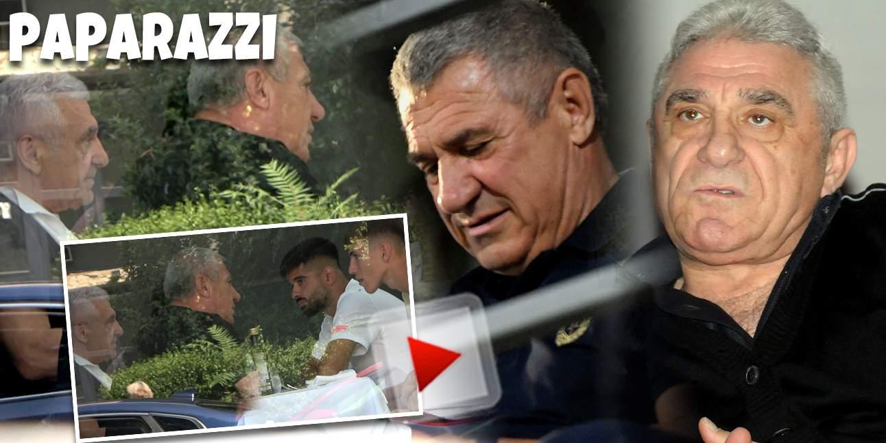 Giovani și Victor Becali pun țara la cale cu Octavian Popescu și Ionuț Vînă! Întâlnire neașteptată la un restaurant de lux / PAPARAZZI