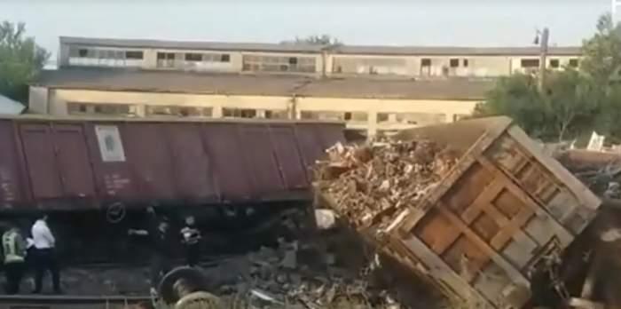 accident fetesti tren