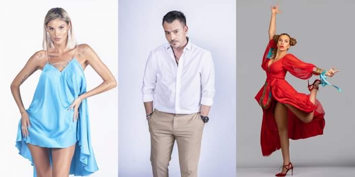 Ei sunt prezentatorii emisiunii Splash! Vedete la apă de la Antena 1. Ramona Olaru, Anna Lesko şi Răzvan Fodor pregătiți de show