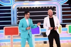 Primele imagini cu Liviu Vârciu și Andrei Ștefănescu la noul lor show, Prețul cel bun. Când începe
