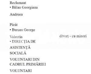 DOCUMENT EXCLUSIV / Martori-surpriză în procesul de divorț al Andreei Bălan / Cine este chemat în fața judecătorilor, alături de George Burcea!