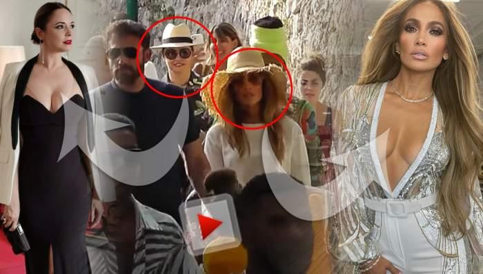 Întâlnire bombă în showbiz! Andreea Marin, surprinsă alături de Jennifer Lopez și Ben Afflek / VIDEO