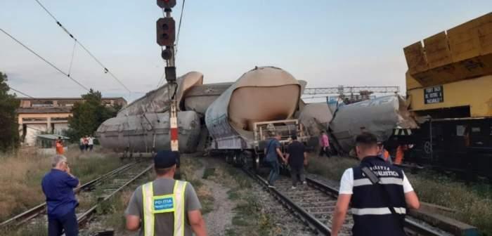 Mecanicul care a provocat accidentul feroviar de la Fetești a fost reținut. Bărbatul a fost găsit cu alcoolemie de către polițiști