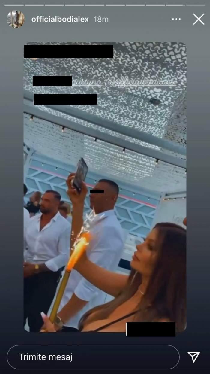 Presupusa iubită a lui Alex Bodi a venit tocmai din Polonia pentru el! Afaceristul și Justyna, ipostaze bombă într-o locație de fițe din Mamaia / FOTO