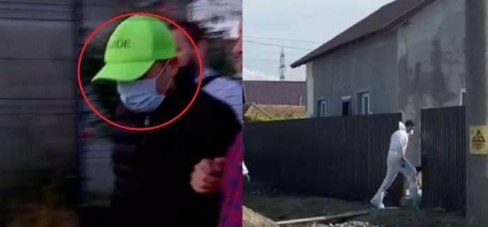 """Imagini din casa groazei din Corbu! Criminalul a trecut prin fața locuinței victimelor a doua zi dimineață. Șocant ce le-a spus vecinilor: """"Era galben la față"""""""