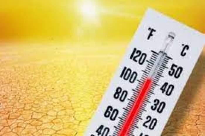 Un termometru și un fundal arzător