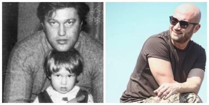 Colaj foto cu Mihai Bendeac și tatăl lui