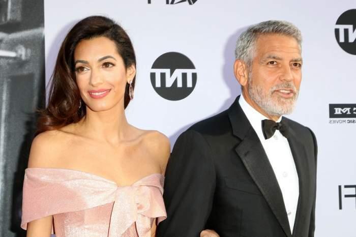 George Clooney și Amal Clooney la un eveniment