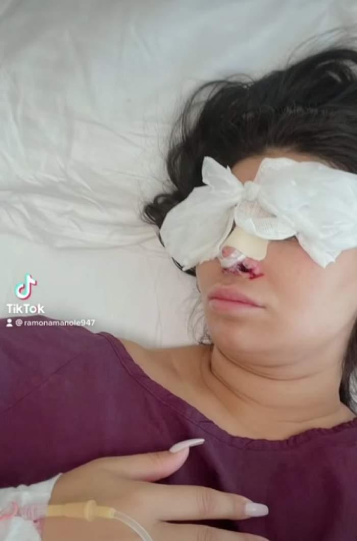 """Ramona Manole, imagini controversate de pe patul de spital. De ce au """"certat-o"""" fanii pe brunetă: """"Îl superi pe Dumnezeu"""" / FOTO"""