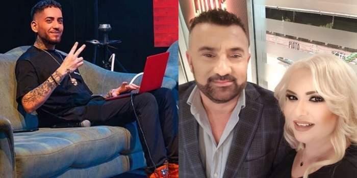 """Fulgy, scandal cu jurnaliștii din fața casei. Fiul Clejanilor a trecut la amenințări de față cu Ioniță, tatăl lui: """"Vă rezolv eu pe toți"""" / VIDEO"""