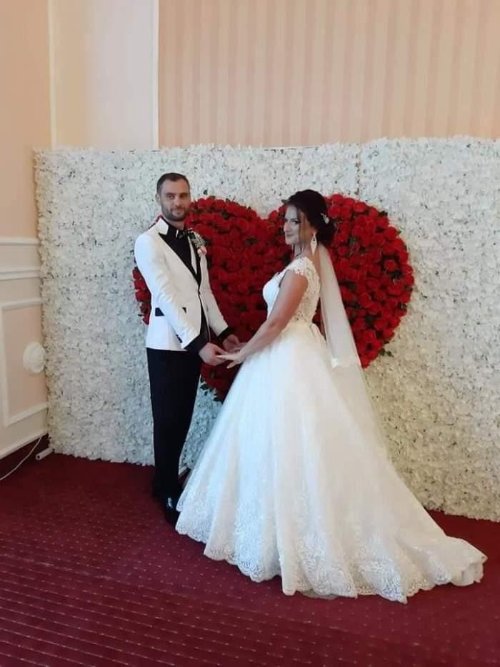 simona si sotul ei la nunta