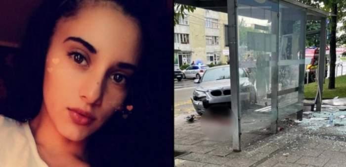 Denisa, tânăra spulberată de mașină într-o stație de autobuz din Baia Mare, s-a stins din viață. Care este starea soțului ei