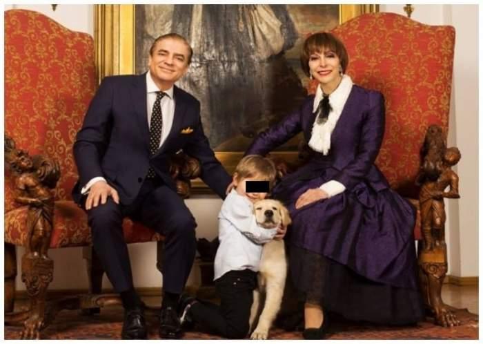 Unde se aflăvila de lux din care a fost evacuatăprințesa Lia alături de micul prințCarol Ferdinand