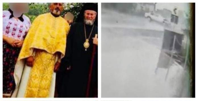 Preot beat, grav accident rutier la Ungureni. Imagini dramatice surprinse imediat după impact