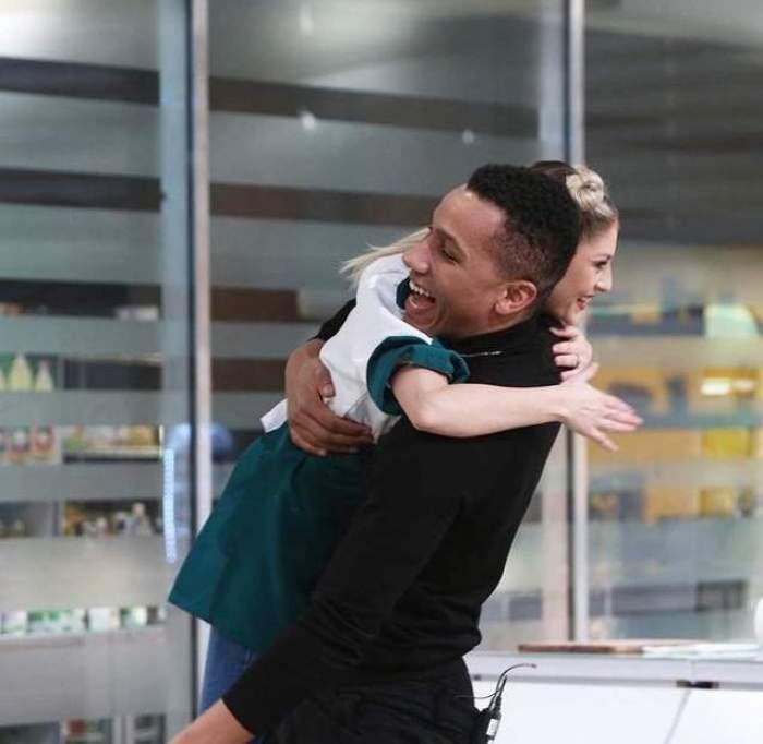 Blvck Matias, despre sărutul pătimaș cu Olga Verbițchi. Ce relație există, de fapt, între protejatul lui Alex Velea și câștigătoarea X Factor / VIDEO