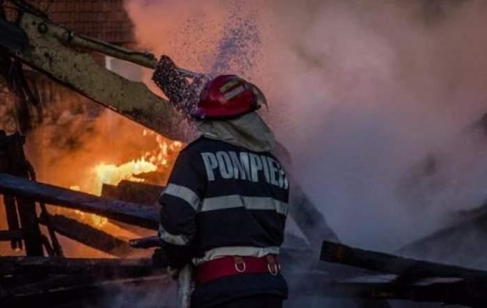 Explozie puternică la Combinatul AzoMureș. Imagini dramatice surprinse de o cameră de supraveghere