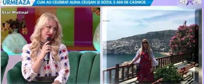 Ornela Pasăre, la Antena Stars