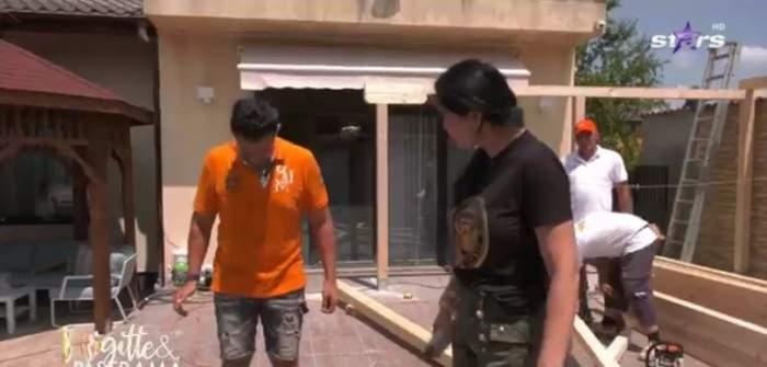 Brigitte, supărată foc pe Florin Patramă. Ce a nemulțumit-o pe vedetă de această dată la soțul ei / VIDEO
