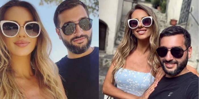 Colaj cu Enzo de la Chefi la cuțite și Antonia Ștefănescu. Amândoi poartă ochelari de soare și zâmbesc. Ea e îmbrăcată cu rochie bleu cu floricele albe, el cu tricou negru.
