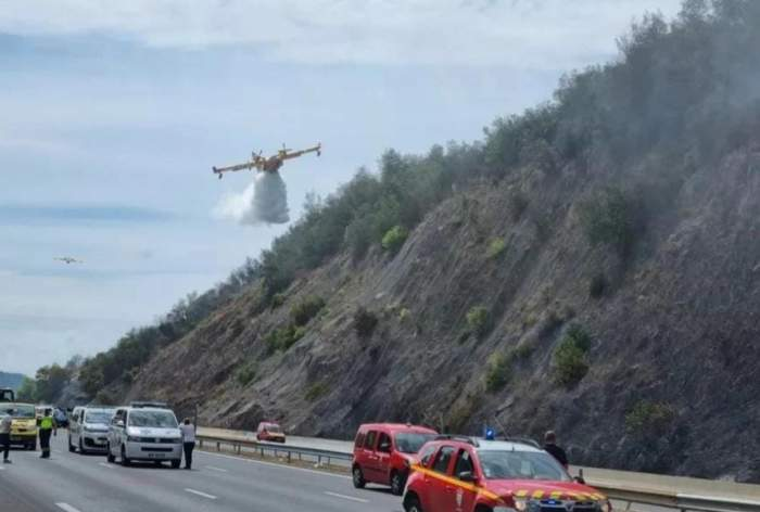 Accident dezastruos, în Franța, provocat de un șofer român de TIR. O persoană a decedat, iar alte opt se afla în stare gravă