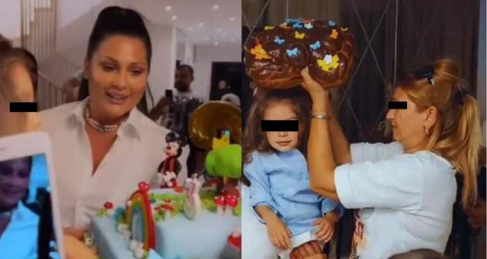 """Partenera lui Florin Salam i-a rupt turta fiului! În absența lui Florin Salam, Roxana Dobre a fost ajutată de Betty Vișănescu la petrecerea """"regească"""" / FOTO"""