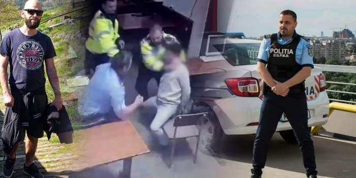 Colaj cu momentul torturii și polițiștii acuzați