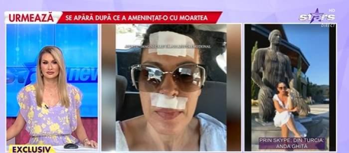 Anda Ghiță, din Turcia, la Antena Stars