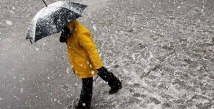 om in ploaie