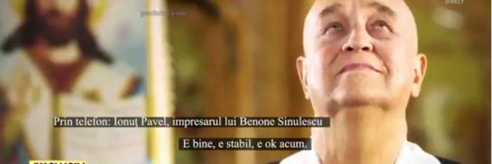 În ce stare se afla, de fapt, Benone Sinulescu la externarea din spital. Impresarul Ionuț Pavel, noi declarații despre situația artistului / VIDEO