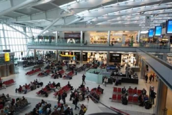 Sala de așteptare din aeroport