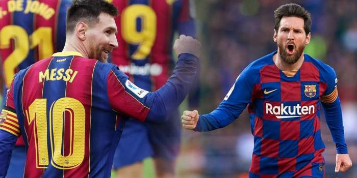 Colaj foto cu Lionel Messi