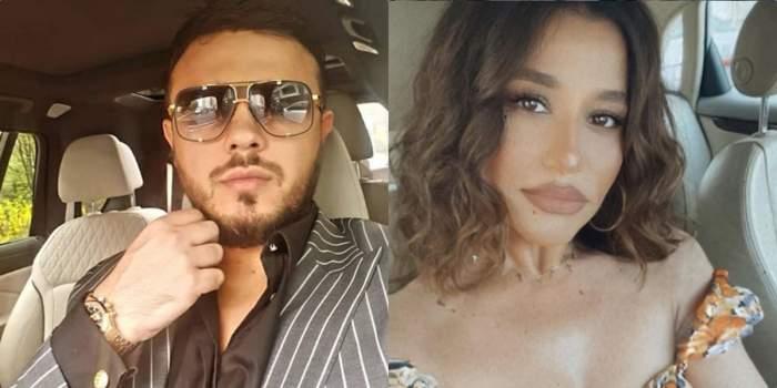 """Gabi Bădălău a reacționat în direct acuzațiilor Claudiei Pătrășcanu. Cum a răspuns fiul de milionar vorbelor dure: """"Ce spune fata aia..."""""""