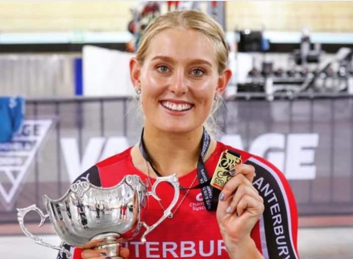 Olivia Podmore, când a devenit vicecampioană olimpică