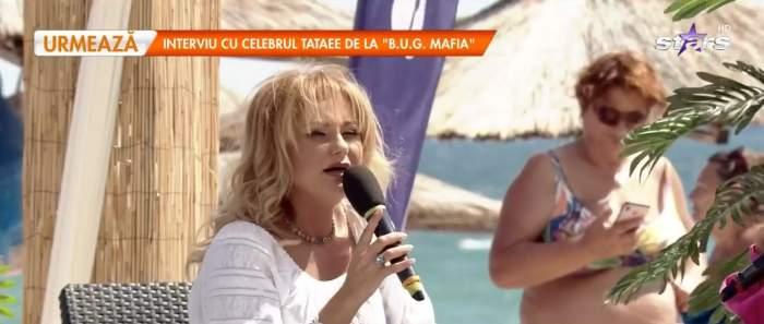 Emilia Ghinescu, la mare în cadrul emisiunii Star Matinal