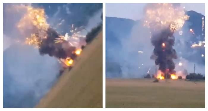 Explozie puternică la Uzina Tehnică Tohan din Brașov. O persoană a murit și alte două au fost rănite