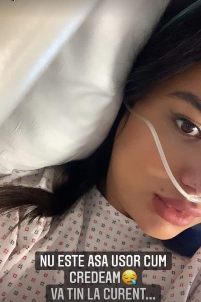 larisa udila la spital