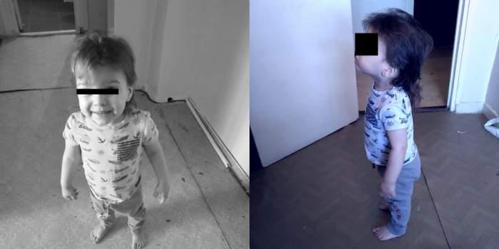 copii cazuti etaj