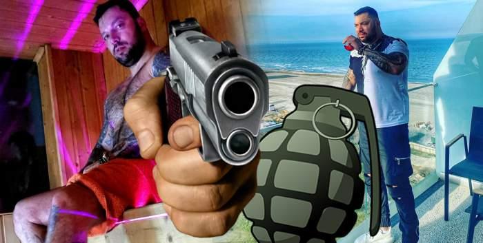 Decizie uluitoare în dosarul interlopului care l-a amenințat pe șeful poliției cu pistolul și grenada! Documente exclusive