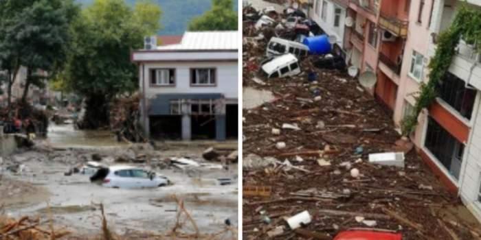 Tragedie fără margini în Turcia! 11 persoane au murit, după ce ploile abundente au provocat inundații severe și alunecări de teren