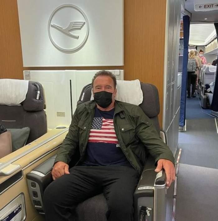 """Arnold Schwarzenegger, mesaj furibund pentru cei care nu poartă masca de protecție: """"La naiba cu libertatea ta!"""""""