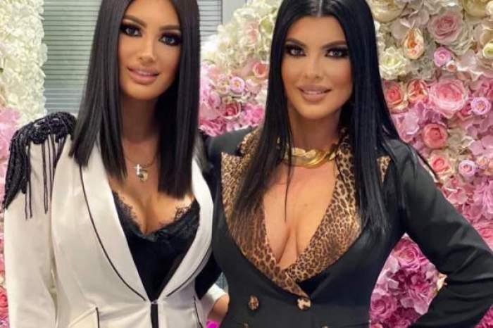 Andreea Tonciu alături de sora sa, Lorena