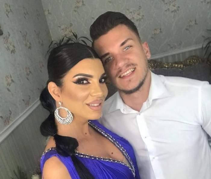 Andreea Tonciu și soțu, eleganți și zâmbitori