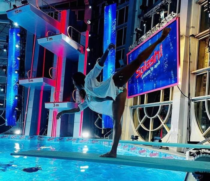Povestea Nataliei Duminică, dansatoarea de la Splash! Vedete la apă