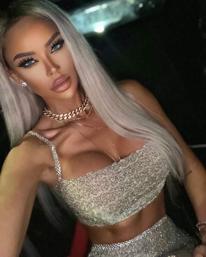 bianca dragusanu selfie