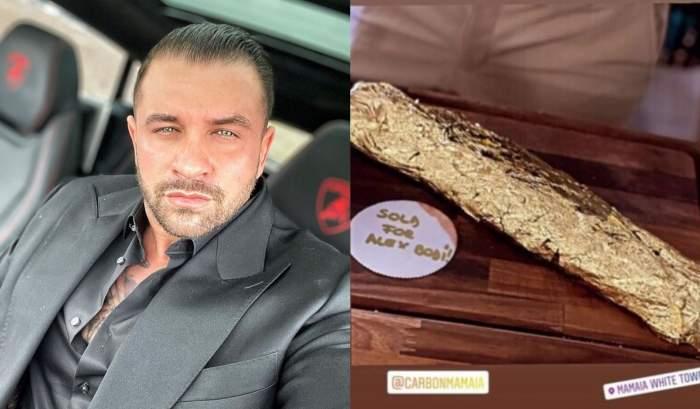 Alex Bodi, aroganță la cote maxime după ce a mers în Mamaia doar pentru a mânca friptură în foiță de aur. La ce preț se ridică un astfel de preparat