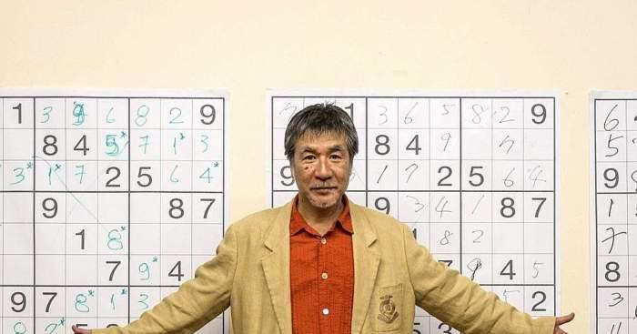 Creatorul jocului Sudoku a decedat! Japonezul Maki Kaji avea vârsta de 69 de ani